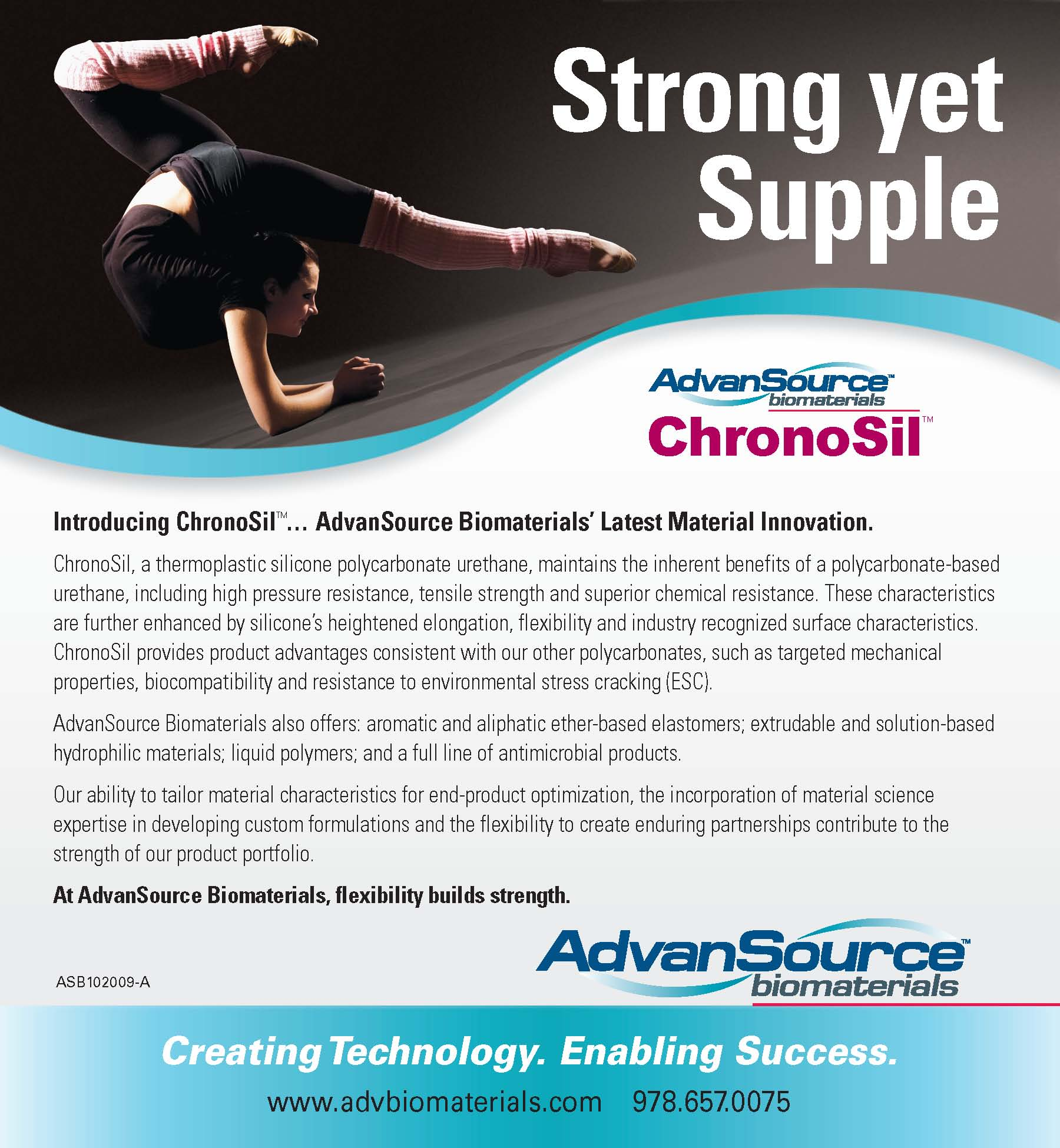 New Product Development - ChronoSil